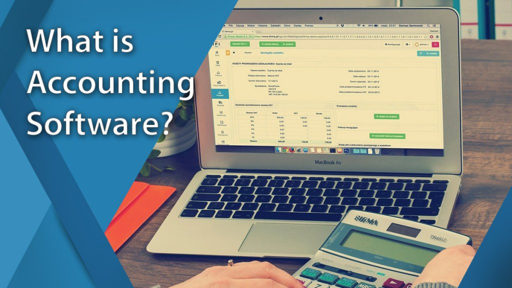What is accounting software?